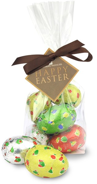 Chocolate trading co spotty chocolate easter eggs with gift wrap option negle Images