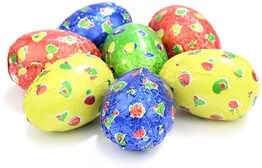 Spotty Easter eggs