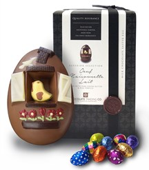 Oeuf Maisonnette Lait milk chocolate Easter egg