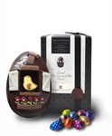 Oeuf Maisonette Noir, Large dark chocolate Easter egg