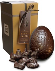 Oeuf Noir, dark chocolate Easter egg