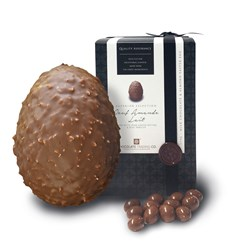 Amande Lait, Large milk chocolate & almond Easter egg