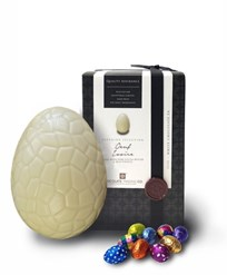 Superior Selection, Oeuf Ivoire, White chocolate Easter egg