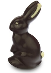 Dark chocolate Easter bunny 100g