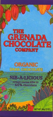 Grenada, Nib-a-licious dark chocolate bar