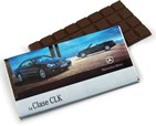 Personalised chocolate bars 100g