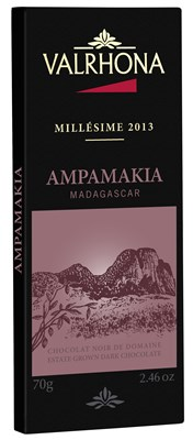 Valrhona, Ampamakia, vintage dark chocolate bar