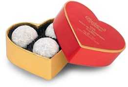 Red Heart Champagne Truffle Gift Box