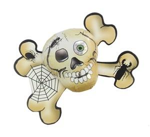 Chocolate Skull & Cross bones  Bulk drum of 45