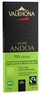 Valrhona, Andoa Noir, 70% dark chocolate bar