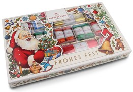 Christmas marzipan selection box 400g