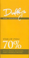 Star of Peru, 70% dark chocolate bar