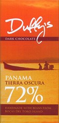 Panama Tierra Oscura, 72% dark chocolate bar