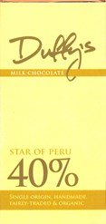 Star of Peru, 40% milk chocolate bar