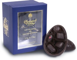 Dark Chocolate Easter Egg with Dark chocolates