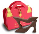 Chocolate Handbag & Heels