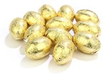 Gold Foiled Mini Easter Eggs