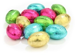 Assorted mini Easter eggs