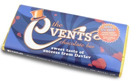 Personalised chocolate bar 80g