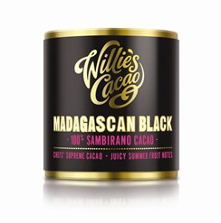 Willies Madagascan Black Sambirano 100% cocoa