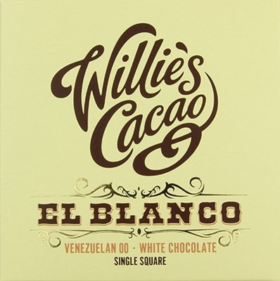 Willies El Blanco Venezuelan white chocolate bar
