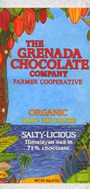 Grenada, Salty-licious, dark chocolate bar