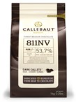 Callebaut, 53% dark chocolate couverture chips