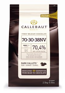 Click to view product details and reviews for Callebaut Dark Chocolate Chips Callets 70 400g Bag.