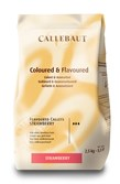 Barry Callebaut strawberry chocolate couverture chips