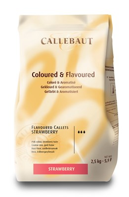 Callebaut, strawberry chocolate chips