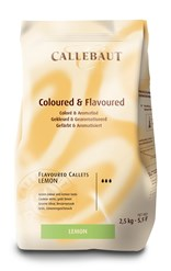 Barry Callebaut Lemon chocolate couverture chips