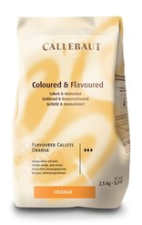 Barry Callebaut orange chocolate couverture chips