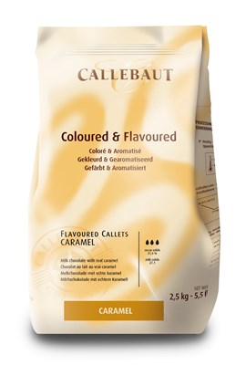 Callebaut, caramel chocolate chips