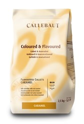 Barry Callebaut caramel chocolate couverture chips
