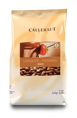Barry Callebaut, milk fountain chocolate
