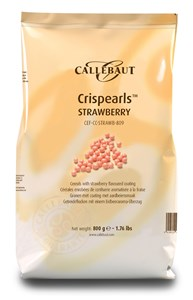 Chocolates Callebaut strawberry pearls