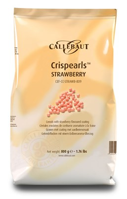 Callebaut strawberry chocolate pearls