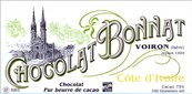 Bonnat, Cote d'Ivoire, 75% dark chocolate bar