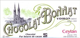 Bonnat, Ceylan, 75% dark chocolate bar