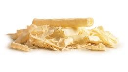 Callebaut white chocolate shavings