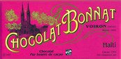 Bonnat, Haiti, 75% dark chocolate bar