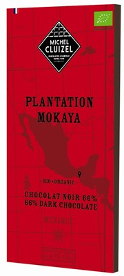 Michel Cluizel, Plantation Mokaya, 66% dark chocolate bar