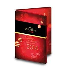 Valrhona chocolate advent calendar