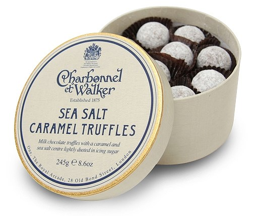Caramel Sea Salt Truffles Recipes — Dishmaps
