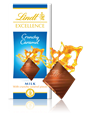 Lindt Excellence, crunchy caramel milk chocolate bar