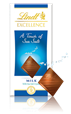 Lindt Excellence, milk chocolate with sea salt bar