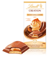 Lindt Creation, vanilla and almond milk chocolate bar
