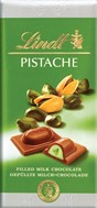 Lindt, Pistache, Milk chocolate with pistachio bar