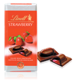Lindt Recipe, strawberry and milk chocolate bar