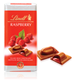 Lindt Recipe, milk chocolate with raspberry bar